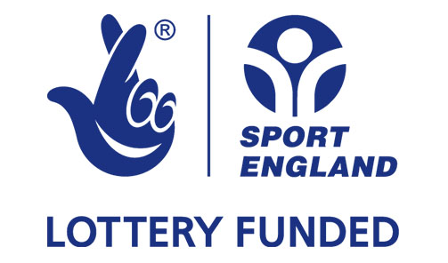 Sport England Lottery Funded